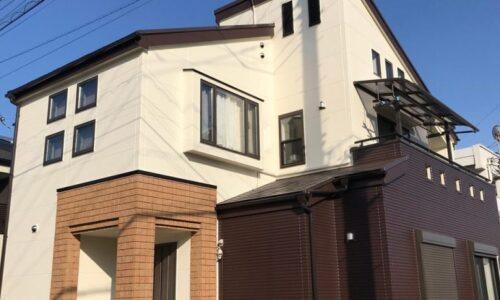 入間市 M様邸 屋根外壁塗装工事 アステックペイント 超低汚染リファイン