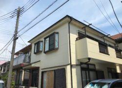 入間市 K様邸 屋根・外壁塗装工事 アレスアクアシリコン